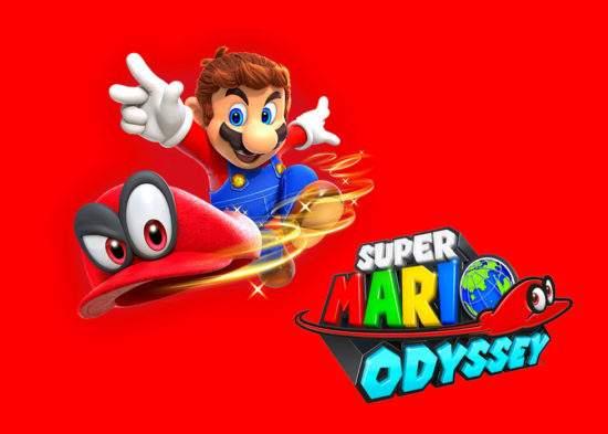 Mario Odyssey。馬力歐奧德賽