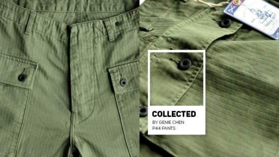【生活穿搭】我的褲子選物哲學 (P44大口袋軍褲)