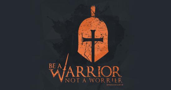 Be a Warrior not a worrier. 戴上口罩,齊力對抗病毒