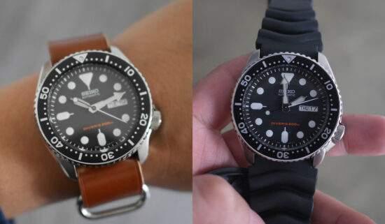 換上新錶帶,摸喇啊兼Seiko